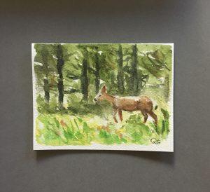 Original Watercolor Cards